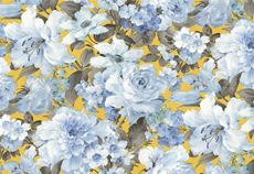 Giấy dán tường hoa hồng xanh 10124-4
